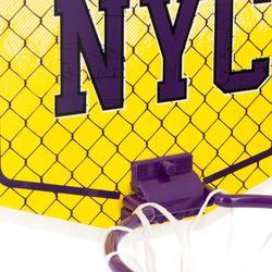 Mini B NYC Kids'/Adults' Mini Basketball Backboard - YellowBall included.