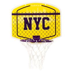 Mini B NYC Kids'/Adults' Mini Basketball Backboard - YellowBall included.