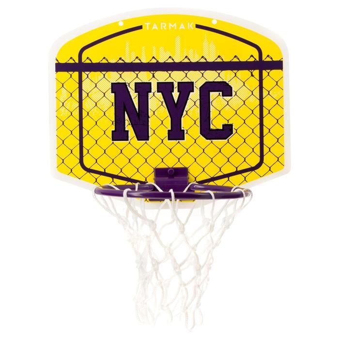 兒童/成人款NYC迷你籃板Mini B(附籃球)-黃色