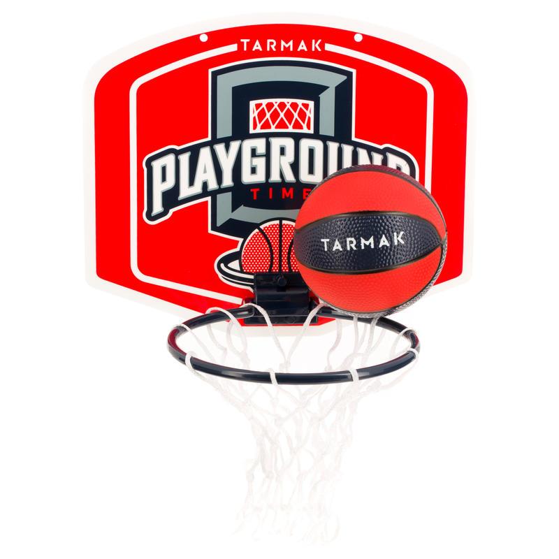 Bộ bóng rổ Mini B Playground cho Trẻ em/ Người lớn - Đỏ