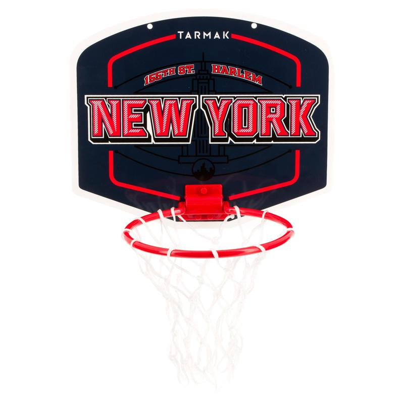 Mini B New York Set Kids'/Adult Mini Basketball Set - BlueBall included.