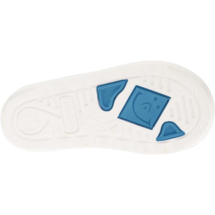 Zeillaarzen voor kinderen B100 lichtblauw