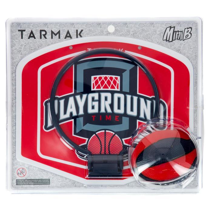 Mini panneau de basket enfant/adulte Set Mini B New York bleu. Ballon inclus. - 1297990