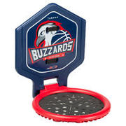 Canasta de básquetbol niño/adulto THE HOOP Buzzards azulTransportable.