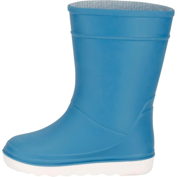 Zeillaarzen B100 voor kinderen lichtblauw