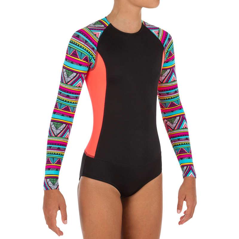 COSTUM DE BAIE FATĂ - Costum Întreg Surf Maika Damă  OLAIAN
