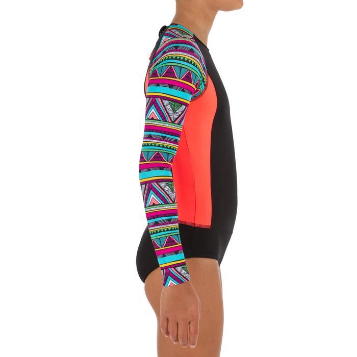Badpak met lange mouwen en backzip voor surfen Maika