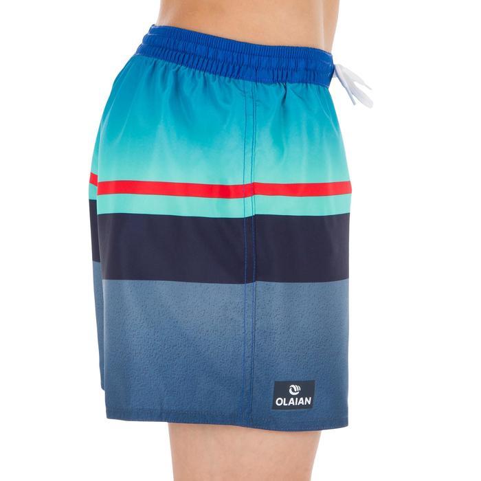 短版衝浪褲Tween100-紅線款