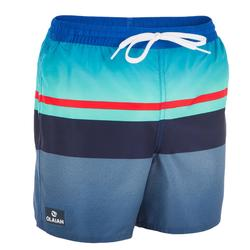 Surf Boardshort court 100 Tween Mood Red