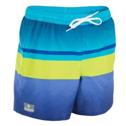 Korte boardshort 100 Tween Mood Green