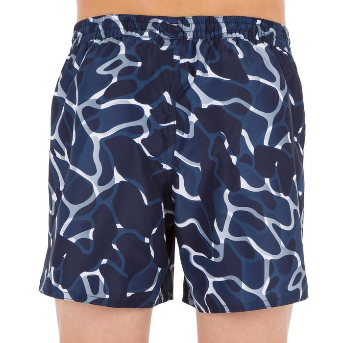 Surf Boardshort court 100 Tween Camo Black