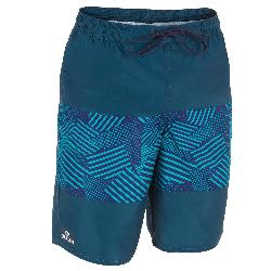 Surf Boardshort long100 Tween Geo Blue