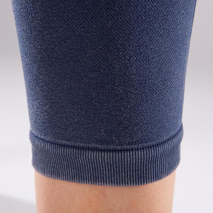 Legging YOGA+ 500 sans couture femme longueur 7/8 - 1298106