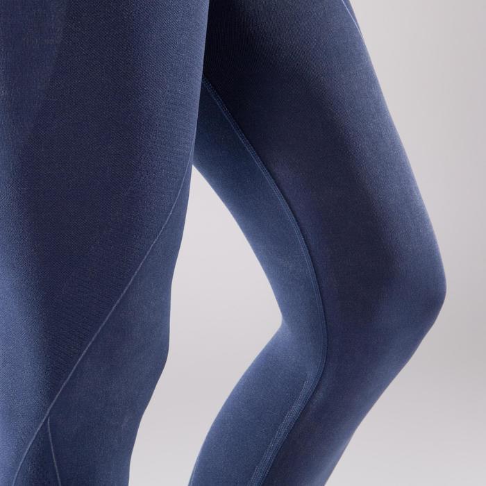 Legging YOGA+ 500 sans couture femme longueur 7/8 - 1298109