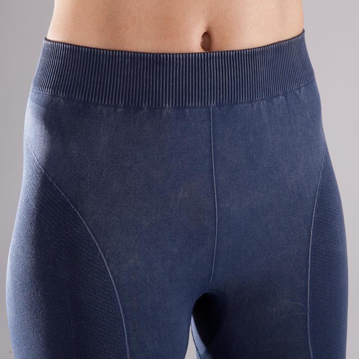 Legging YOGA sans couture femme longueur 7/8 - 1298110