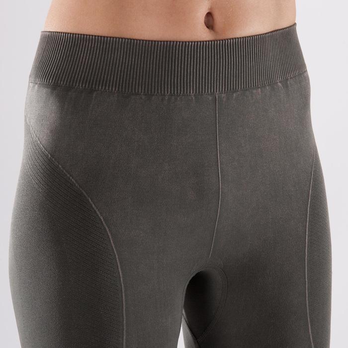 Legging YOGA+ 500 sans couture femme longueur 7/8 - 1298135
