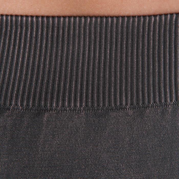 Legging YOGA+ 500 sans couture femme longueur 7/8 - 1298137