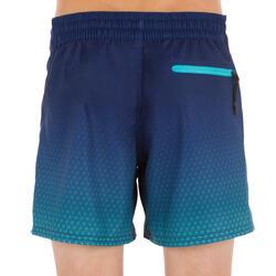 Bañador Corto Surf Olaian 500 Tween Weft Niño Azul