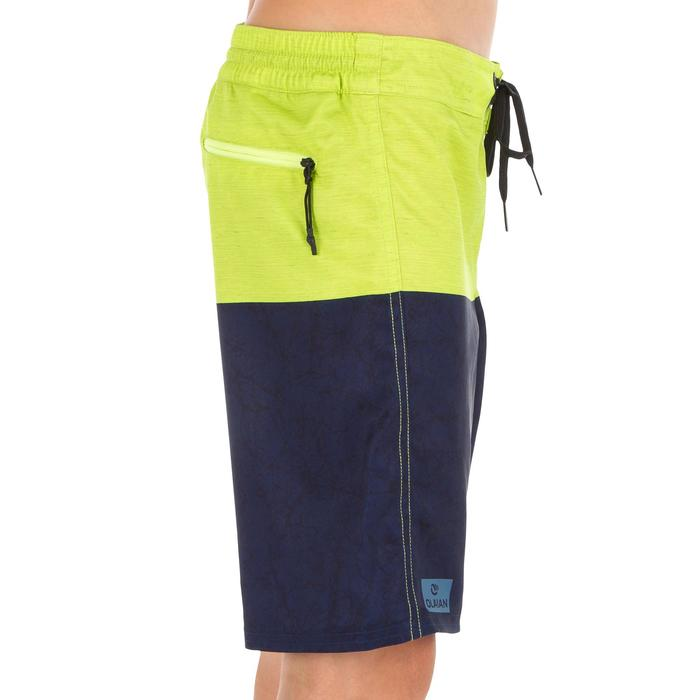 Lange surf boardshort 500 tween Heather groen
