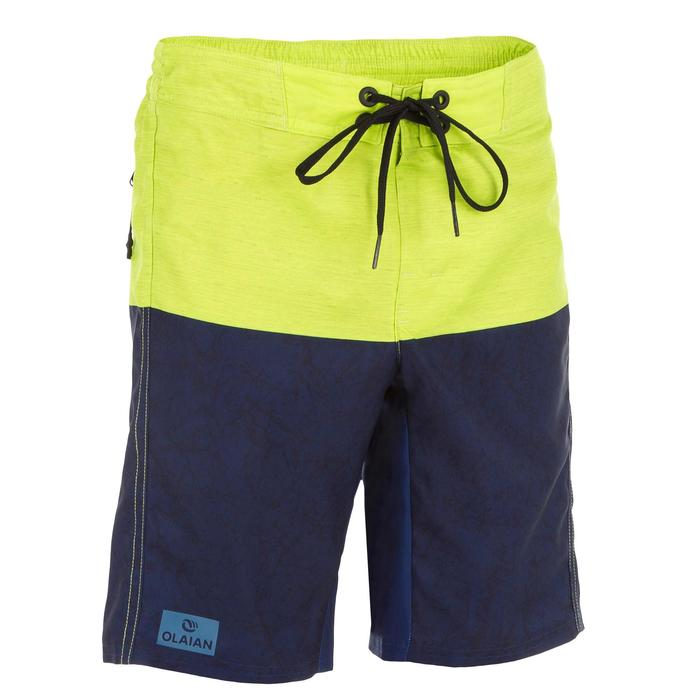 Surf Boardshort long 500 Tween Heather Green