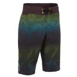 Surf Boardshort long 900 Tween Symbio Green