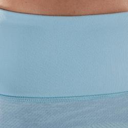 Corsaire YOGA dynamique femme bleu clair imprimé