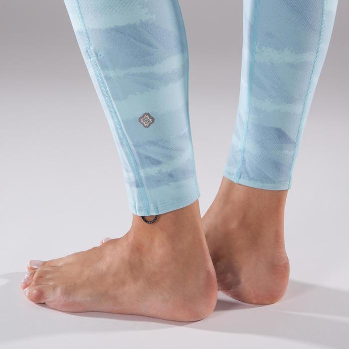 Legging YOGA+ respirant femme - 1298235