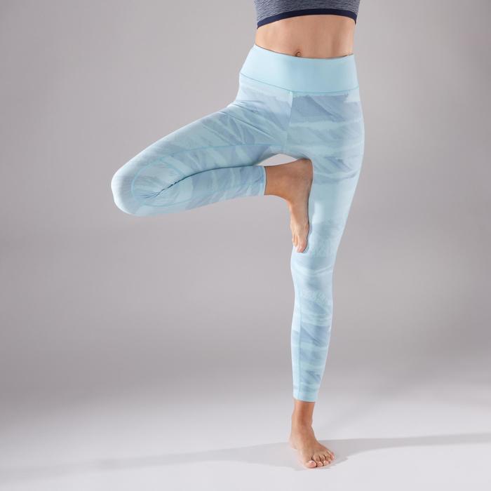 Legging YOGA+ respirant femme - 1298238
