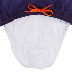 Kurze Boardshorts Surfen 100 Lines Kinder orange