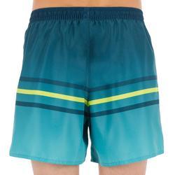 Surf Boardshort corto 100 Kid Line verde