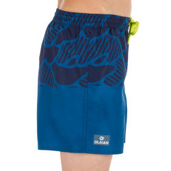 100 Short Tween Surfing Boardshorts Water Blue