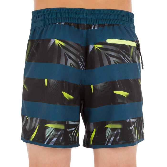 Surf Boardshort corto 500 Tween Flower negro
