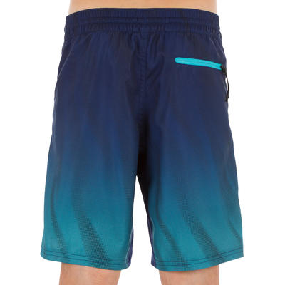 Palmes de snorkeling SNK 520 enfant bleu turquoise