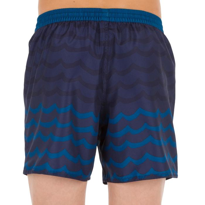 Kurze Boardshorts Surfen 100 Wave Kinder blau