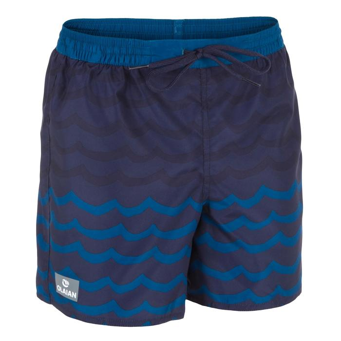 Surf Boardshort corto 100 Kid Wave azul