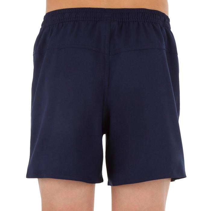 Kurze Boardshorts Surfen 500 Kid Sunset Kinder blau