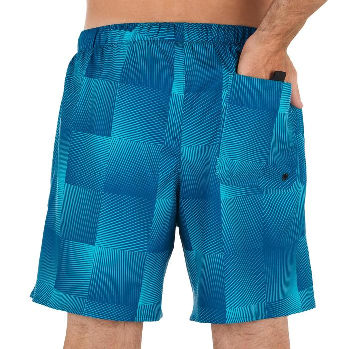 Surf boardshort court 100 Square Blue - 1298363
