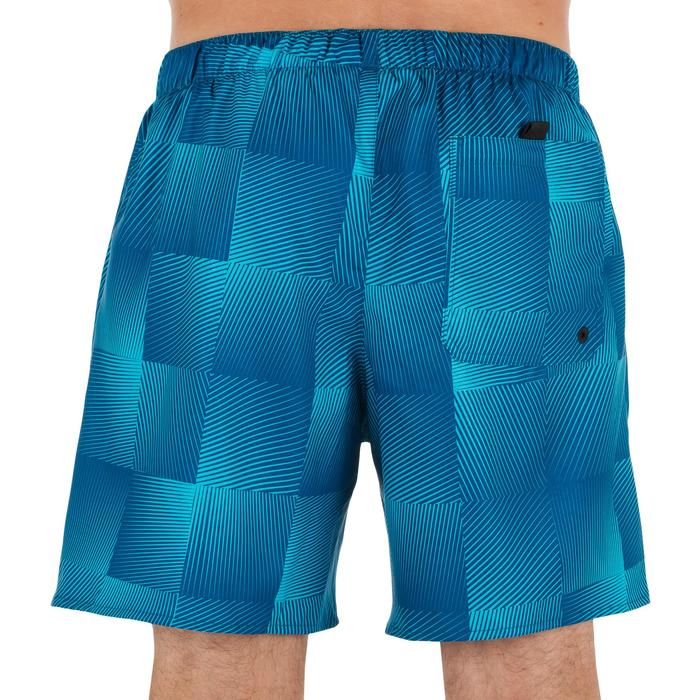 Surf boardshort court 100 Square Blue - 1298364