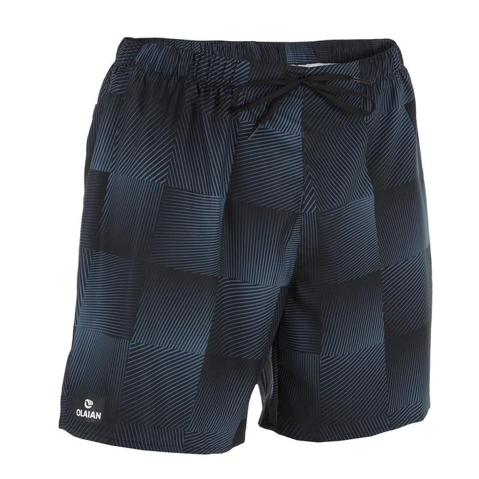 Surf boardshort court 100 Square Black