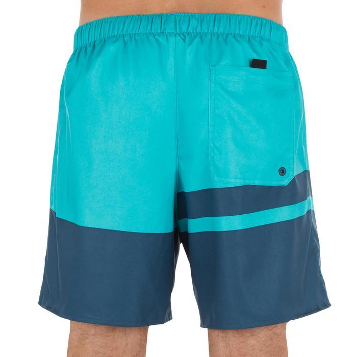 100 short surfing boardshorts Blue stripes - 1298372