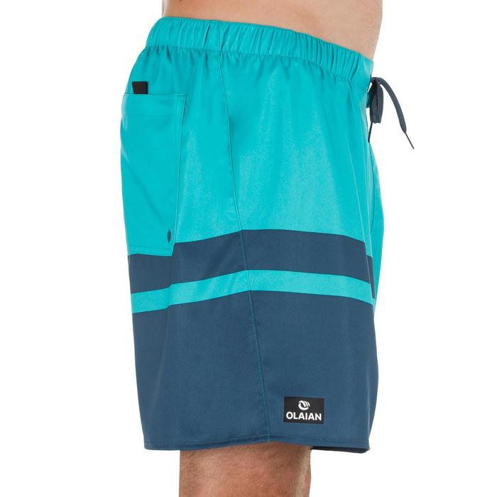 Surf boardshort court 100 Square Blue - 1298374