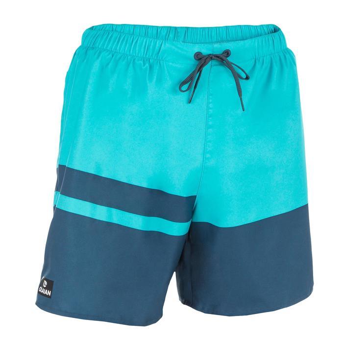 100 short surfing boardshorts Blue stripes - 1298375