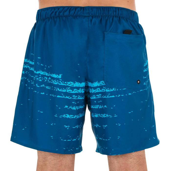 Surf boardshort corto 100 Waves azul