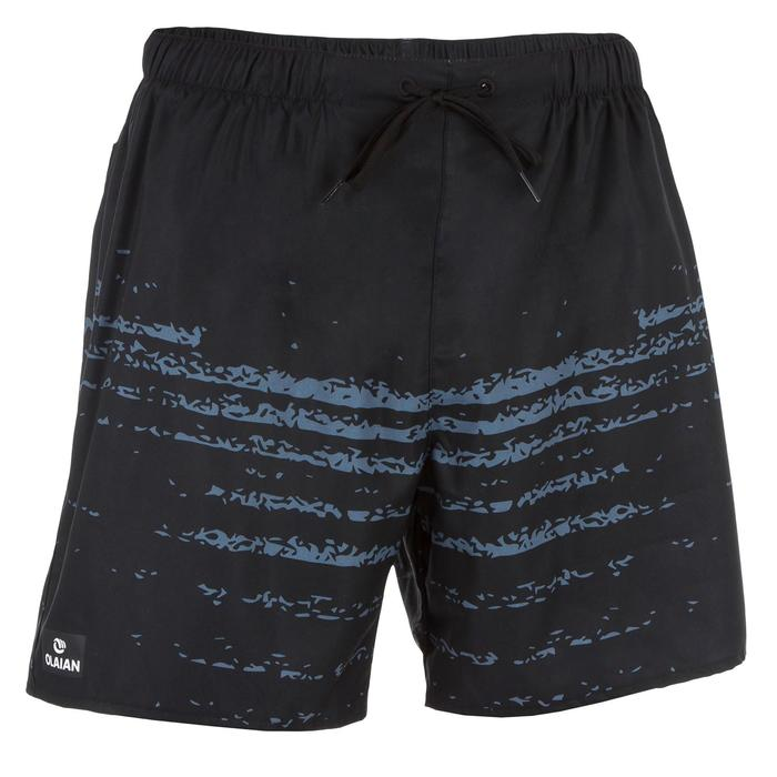 Surf boardshort court 100 Square Blue - 1298386