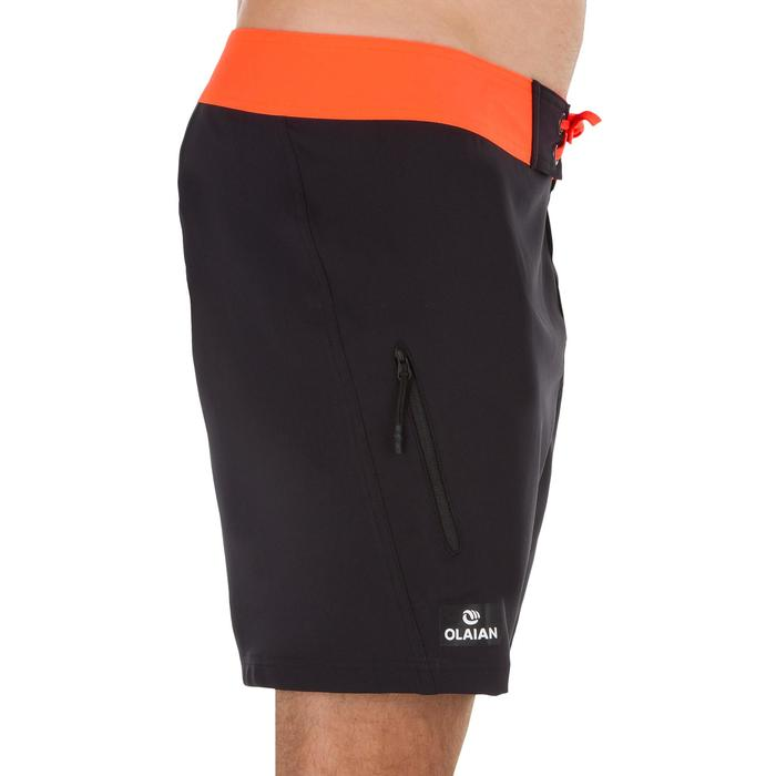 Surf boardshort court 500 Uni Full Black - 1298392