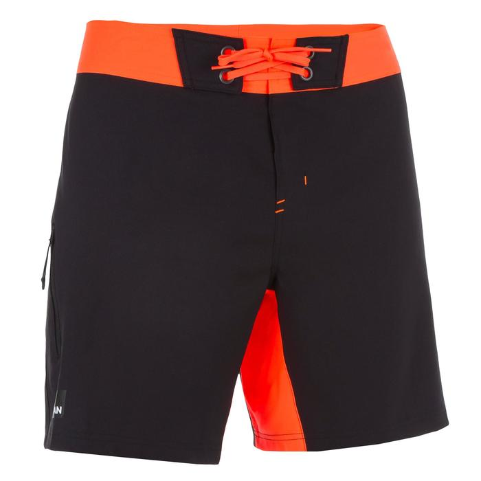 Surf boardshort court 500 Uni Full Black - 1298394