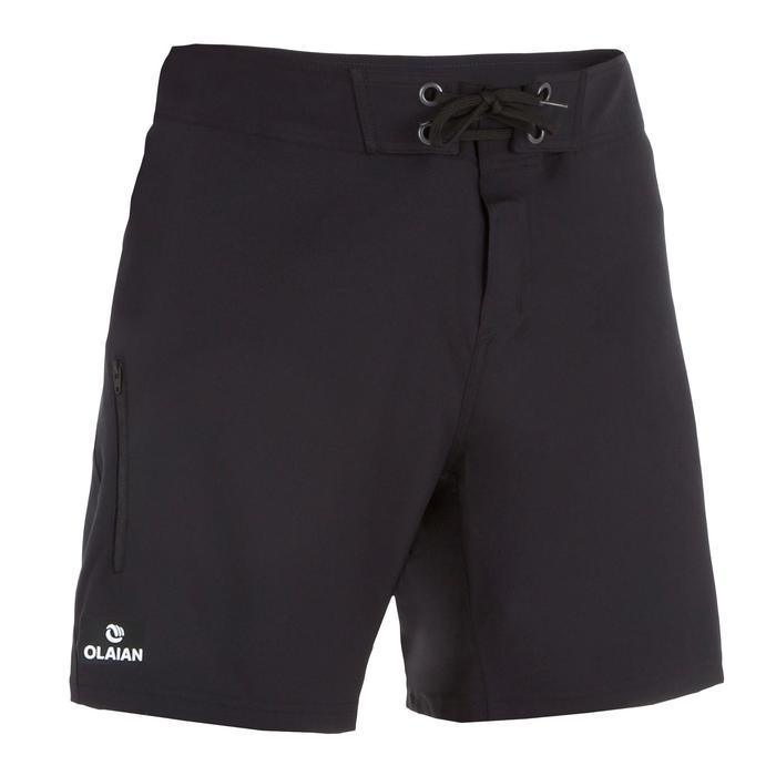 Surf boardshort court 500 Uni Full Black - 1298397