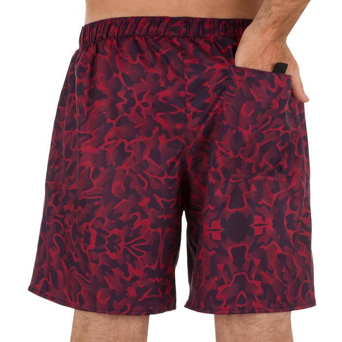 Surf boardshort court 100 Square Blue - 1298413