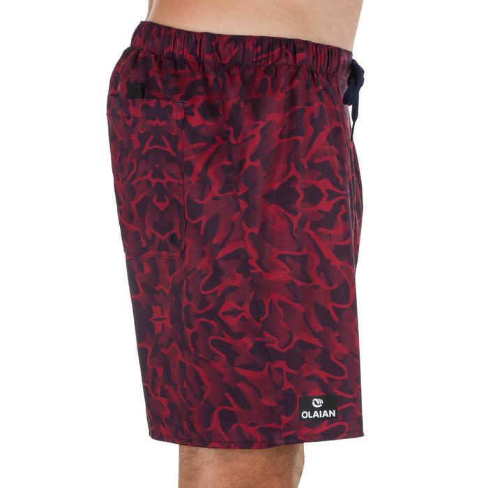 Surf boardshort court 100 Square Blue - 1298415