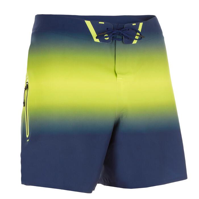 Boardshorts Surfen 900 Light gelb